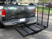 POWER WHEELCHAIR MOBILITY CARRIER RACK RAMP