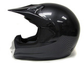 Adult Carbon MX Motocross Motorcross Dirt Bike ATV Off-Road Snowmobile Helmet