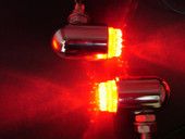 Red Custom LED Brake +Tail+Turn Signal Motorcycle Light