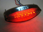 LED tail brake light motorcycle custom street fighter