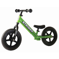 Green 12 Classic Strider Balance Bike