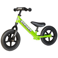 Green 12 Sport  Strider Balance Bike