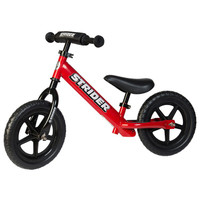 Red 12 Sport  Strider Balance Bike