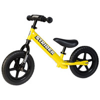 Yellow 12 Sport  Strider Balance Bike