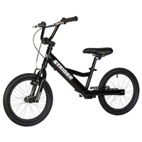 Black Strider 16 - Sport - No Pedal Balance Bike