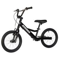 Black Strider 16 - Sport - No Pedal Balance Bike