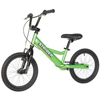 Green Strider 16 - Sport - No Pedal Balance Bike