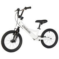White Strider 16 - Sport - No Pedal Balance Bike