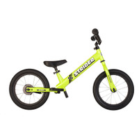 Green 14x Sport Strider Balance to Pedal Bike