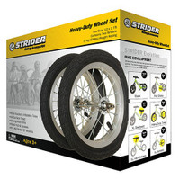 Optional Alloy Wheel with Pneumatic Tire Set