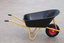 160 Litre Black Poly Wheelbarrow