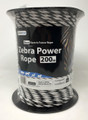Zebra Power Electric Fence Rope 200m