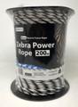 Zebra Power Electric Fence Rope 200m