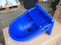 Blue Plastic Float Drinker 4L