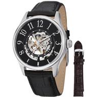 Stuhrling 746L.SET.02 Solaris Automatic Interchangeable Leather Mens Watch