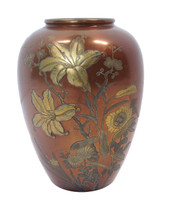 6M172 Bronze Flower Vase