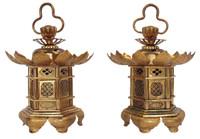 7M86 Altar Lantern A Pair