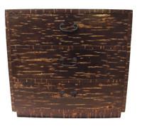 7M149 Cherry Bark Personal Storage Chest (Kabazaiku) / SOLD