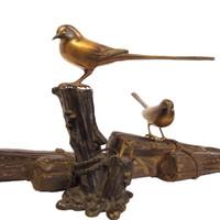 8M21 Okimono Birds