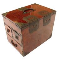 8M206  Merchant Writing Box (Suzuri Bako)
