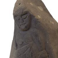 8M221 Fudo Myo Stone Buddha