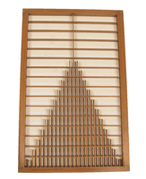 8M344 Wooden Panel Door