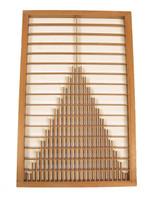 8M345 Wooden Panel Door