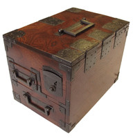8M389 Merchant Writing Box (Suzuri Bako) with key