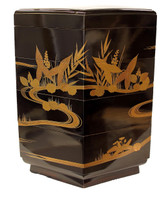 9M141 Lacquer Container with Makie