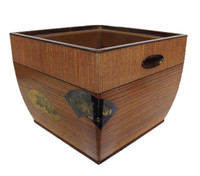 10M183 Hibachi with Silver Inlay / SOLD