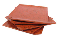 10M220 Lacquer  Wooden 5 Plate Set / SOLD