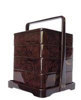 10M225 Wajima Lacquer Bento Box