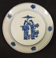 N29 Blue and White Plate