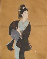 3M78 Scroll Mikaeri Bijin Geisha