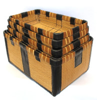 3M189 5 Stacking Baskets A Set / SOLD