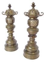 3M302 Buddhist Lantern Pair