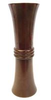 4M143 Bronze Tall Flower Vase