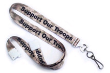 Support our Troops Lanyard
