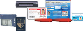 ID Works Visitor Manager w/800R Scanner, 572818-004