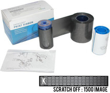 Datacard Silver Wavy Scratch-Off  #532000-009