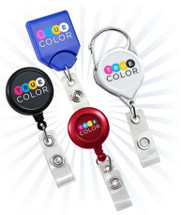 Custom-Printed Badge Reels