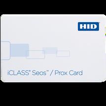 iCLASS® Seos 5105 Card 510 - iCLASS Seos + Prox Card