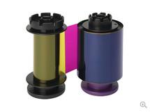 Evolis YMCFK RT Color Ribbon with UV Panel, RT5F014NAA