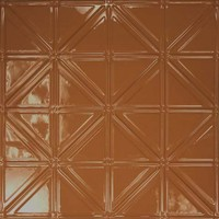 0606 Aluminum Ceiling Tile in Harvest Finish and many other finishes is available at www.decorativeceilingtiles.net