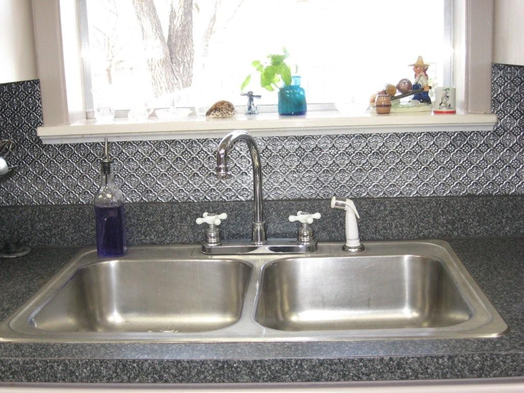 are you looking for faux tin backsplash