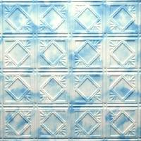 0603  Aluminum Ceiling Tiles in Sky Tones and many other finishes are available at www.decorativeceilingtiles.net