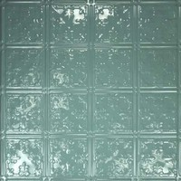 0605 Aluminum Ceiling Tile in Caribbean Sea Finish is availabel at www.decorativeceilingtiles.net