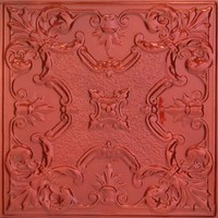 2443 Aluminum Ceiling Tile in Cinnamon Stick finish is available at www.decorativeceilingtiles.net