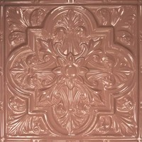 2438 Aluminum Ceiling Tile in Mauvelous Rose and many other finishes are available at www.decorativeceilingtiles.net