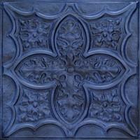 2428 Aluminum Ceiling Tile in Pacific Tide Finish comes in 2ft x 2ft and it is available as nail up or drop in at www.decorativeceilingtiles.net